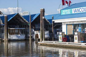 Vancouver Marina Fuel Dock